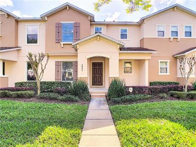 Orlando Townhouse For Sale: 2445 Formax Drive