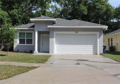 Hillsborough County Single Family Home For Sale: 1708 E Kirby Street