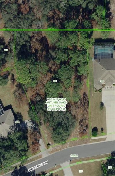 Hudson Residential Lots & Land For Sale: Mitigation Court