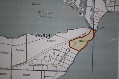 Winter Haven Residential Lots & Land For Sale: Lake Eloise Drive W