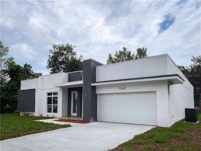 Volusia County Single Family Home For Sale: 1360 Bakersfield Avenue
