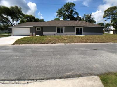 Saint Cloud Single Family Home For Sale: 600 Georgia Avenue