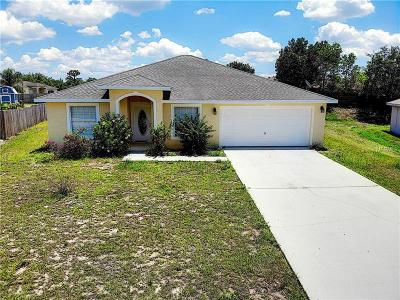 Polk County Single Family Home For Sale: 1907 Drum Drive