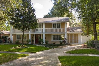 Winter Park Single Family Home For Sale: 554 Fitzwalter Drive