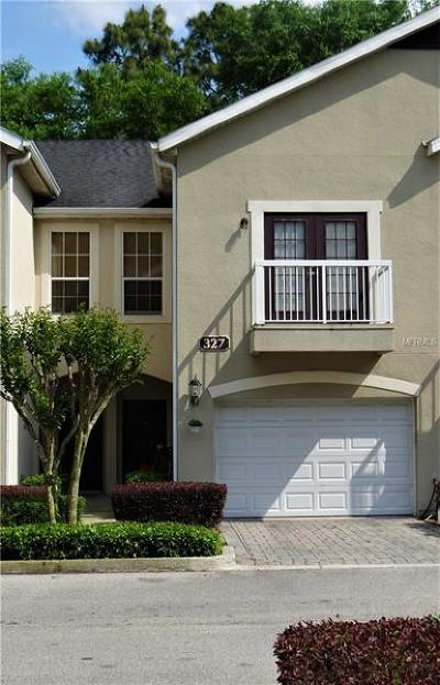 Casselberry Townhouse For Sale: 327 Vanguard Point