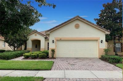 Clermont, Davenport, Haines City, Winter Haven, Kissimmee, Poinciana, Orlando, Windermere, Winter Garden Single Family Home For Sale: 597 Russ Pond Drive