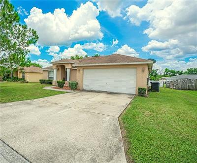 Lakeland Single Family Home For Sale: 2823 Hickory Ridge Drive