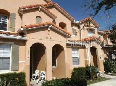 Kissimmee Townhouse For Sale: 5516 Paradise Cay Circle