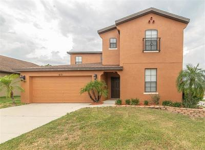Minneola Single Family Home For Sale: 651 Woods Landing Drive