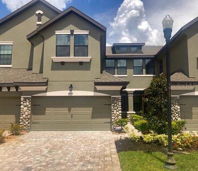 Wesley Chapel Townhouse For Sale: 4754 Wandering Way