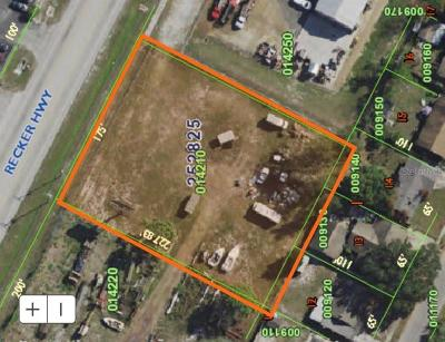 Winter Haven Residential Lots & Land For Sale: 3240 Recker Highway