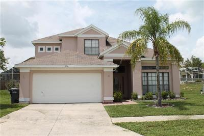 Davenport FL Single Family Home For Sale: $278,000