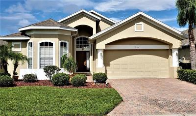 Clermont, Davenport, Haines City, Winter Haven, Kissimmee, Poinciana, Orlando, Windermere, Winter Garden Single Family Home For Sale: 235 Vista Oaks Way