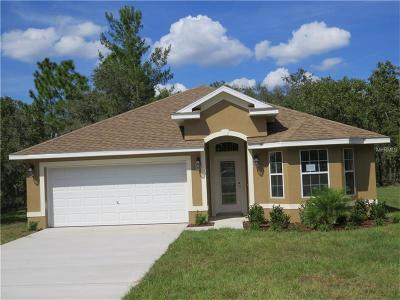 Hernando County Single Family Home For Sale: 1157 Mystic Court