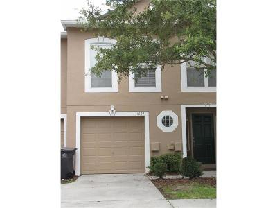 Tampa Townhouse For Sale: 4609 Ashburn Square Drive
