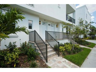 Bayshore Beautiful Townhouse For Sale: 3505 S Macdill Avenue #3