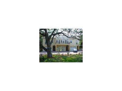 Townhouse For Sale: 5601 Bayshore Boulevard