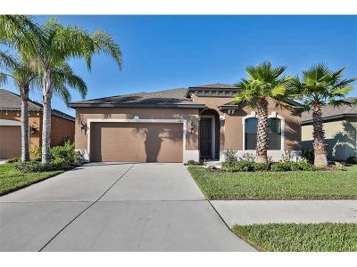 Wimauma Single Family Home For Sale: 14421 Alistar Manor Drive