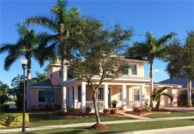 Apollo Beach FL Single Family Home For Sale: $799,000