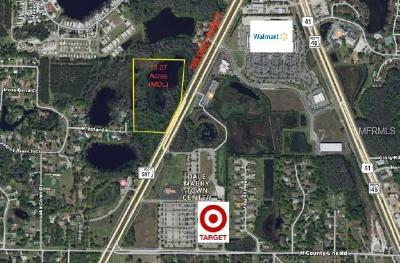 Lutz FL Residential Lots & Land For Sale: $1,900,000