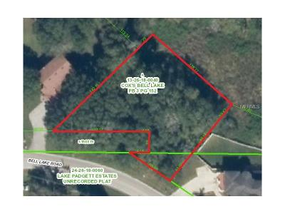 Land O Lakes Residential Lots & Land For Sale: Bell Lake Road