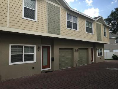 Tampa Townhouse For Sale: 3715 W Bay Avenue #6