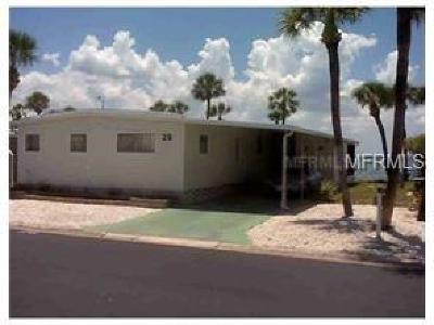 Tampa Mobile/Manufactured For Sale: 4851 W Gandy Boulevard #15/26