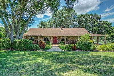 Single Family Home For Sale: 9229 Fort King Road