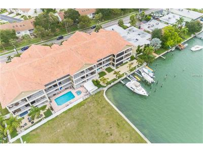 Treasure Island Townhouse For Sale: 300 Capri Boulevard #3