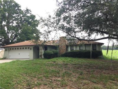 Dade City Single Family Home For Sale: 39105 River Road