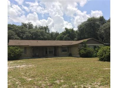 Wimauma Single Family Home For Sale: 10510 Sumner Road