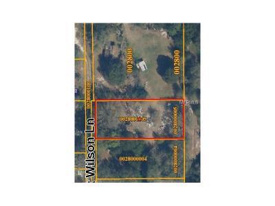 Odessa Residential Lots & Land For Sale: 9007 Scott Wilson Lane