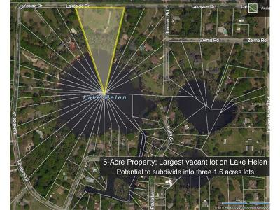 Lutz Residential Lots & Land For Sale: 6055 Lakeside Drive