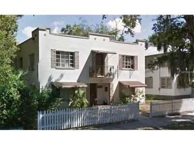 Hernando County, Hillsborough County, Pasco County, Pinellas County Multi Family Home For Sale: 801 Grove Street N