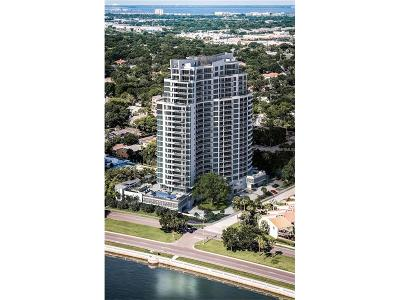 Hernando County, Hillsborough County, Pasco County, Pinellas County Condo For Sale: 3401 Bayshore Boulevard #904
