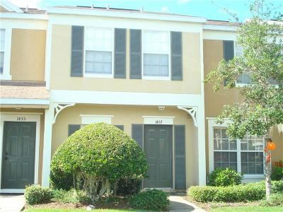 Wesley Chapel Townhouse For Sale: 1437 Costa Mesa Drive