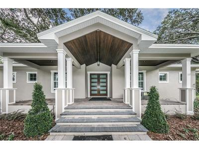 Tampa Single Family Home For Sale: 15505 Lake Magdalene Boulevard