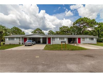 New Port Richey Multi Family Home For Sale: 5900 Jackson Street