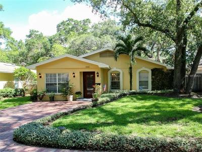 Tampa Single Family Home For Sale: 4421 W Estrella Street