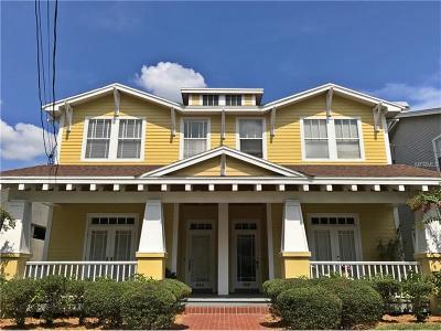 Tampa Townhouse For Sale: 814 S Rome Avenue