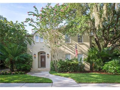 Tampa Single Family Home For Sale: 3300 W Villa Rosa Street