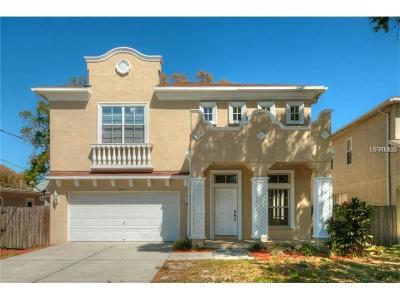Hernando County, Hillsborough County, Pasco County, Pinellas County Single Family Home For Sale: 3409 W Dewey Street