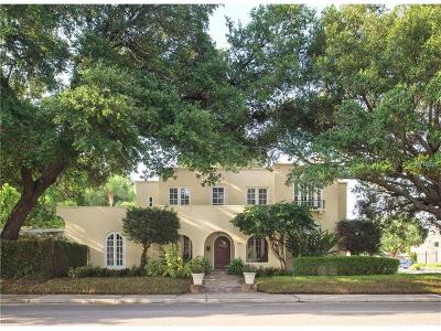 Virginia Park Single Family Home For Sale: 3824 W Bay To Bay Boulevard
