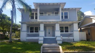 Tampa Single Family Home For Sale: 1023 E Broad Street
