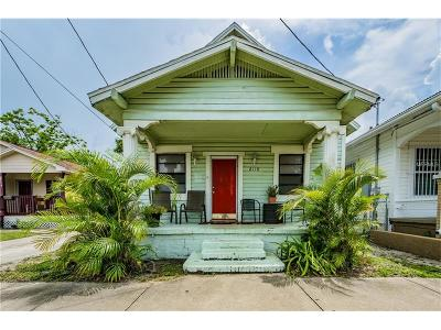 Tampa Single Family Home For Sale: 2118 Palmetto Street W