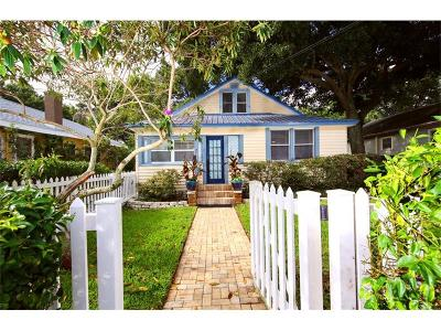 St Petersburg Single Family Home For Sale: 621 11th Avenue N