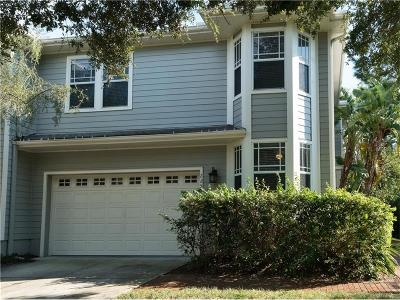 Tampa Townhouse For Sale: 2852 Bayshore Trails Drive