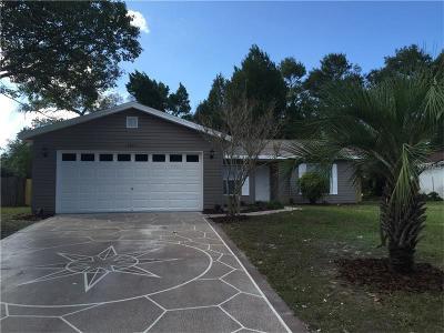 Spring Hill Single Family Home For Sale: 3265 Bluestone Avenue