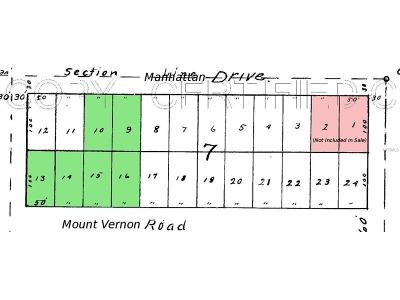 Residential Lots & Land For Sale: 7317 Mount Vernon Road