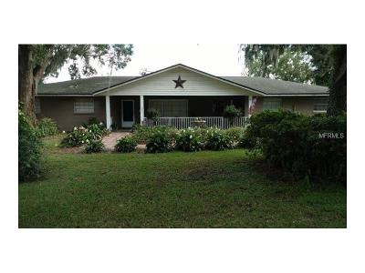 Plant City Single Family Home For Sale: 801 W Keysville Road